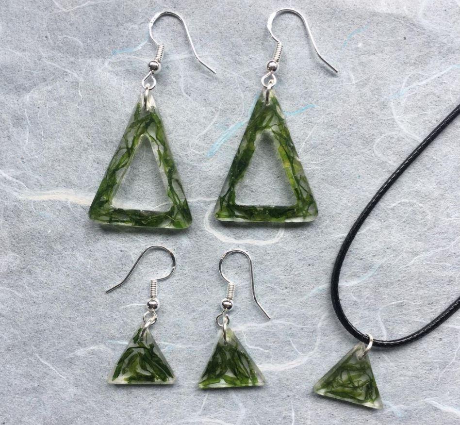 ktheyfunky handmade seaweed jewellery